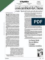 Intervista a Papa Francesco di Repubblica by Eugenio Scalfari