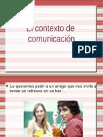 Contextos de comunicación 5º