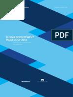 Russia Development Index 2012–2013 (Valdai Index)