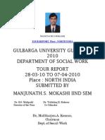 Manjunath mokashi north india tour report