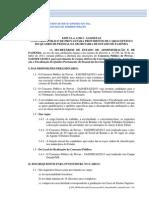 Sefaz - MS Edital 001 - 2013