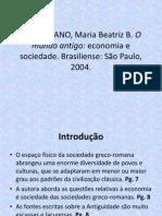 FLORENZANO, Maria Beatriz B. O mundo antigo - economia e sociedade.ppt