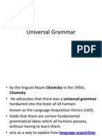 Universal gramm.ppt