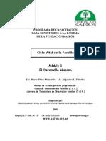 Ciclo Vital de La Familia - Modulo 1 Eirene