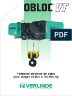 Polipastos de Cable