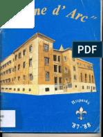 Ecole Jeanne D'Arc Souvenir 1987-1988.pdf