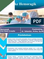 Ppt case stroke hemoragik putri maharani. Pptx | stroke.
