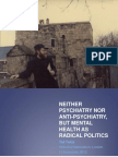 Tietze 2013—Neither psychiatry nor anti-psychiatry, but mental health as radical politics