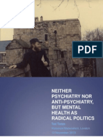 Tietze 2013—Neither psychiatry nor anti-psychiatry, but mental health as radical politics