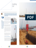 Vibratory hammers PTC 120HD  65HD combined wall anchor wall harbour quay Togo.pdf