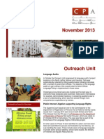 CPA Newsletter - November 2013