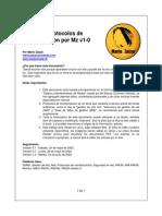 Resumen Protocolos de Monitorizacion Por Mz v1-0