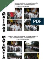 Izada de Bandera Math 2009