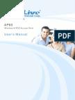 AirLive AP60 Manual Web