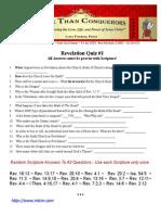 revelation quiz 1