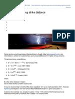 Calculating Lightning Strike Distance