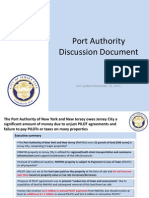 Port Authority Discussion Document