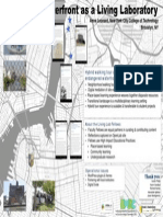 Brooklyn's Waterfront as a Living Laboratory Poster