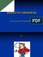 BERHENTI MEROKOK -.ppt