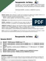 Base de Datos II Teoria y Ejemplos Del Select_MaLourdes[1]