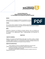 Plan de Trabajo 2012-2015-Reemplazar