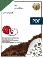 Espresso Machines GAGGIA 201310170246 Lf