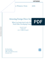 Attracting Foreign Direct Investment