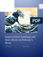 impressionist paintings and their effects on debussy