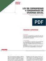 Ley de Copropiedad y Condominios de Vivienda Social