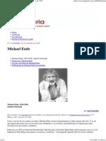 Michael Ende - Imaginaria No. 8 - 22 de Setiembre de 1999