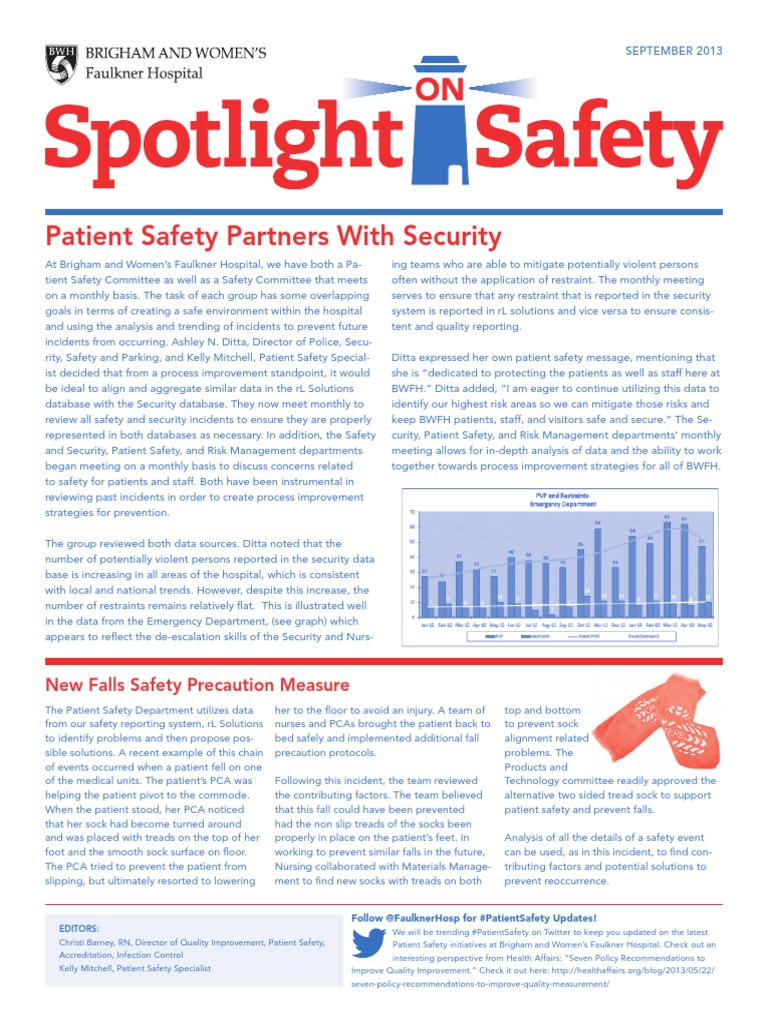 Spotlight on Safety | Patient Safety | Patient