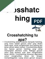 crosshatching techic