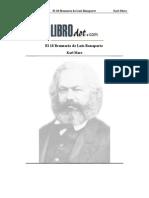 Marx - El 18 brumario de Luis Bonaparte.pdf
