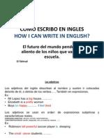Como Escribir en Ingles