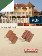 Catalog Tondach Țiglă Trasă
