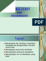 Sterilisasi Dan Desinfeksi