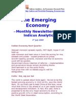 Emerging Economy July 2009 Indicus Analytics