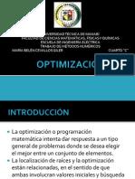 Optimización.