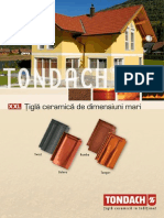 Catalog Tondach Țiglă XXL