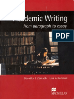 8569 Academic Writing from Paragraph to essay.pdf