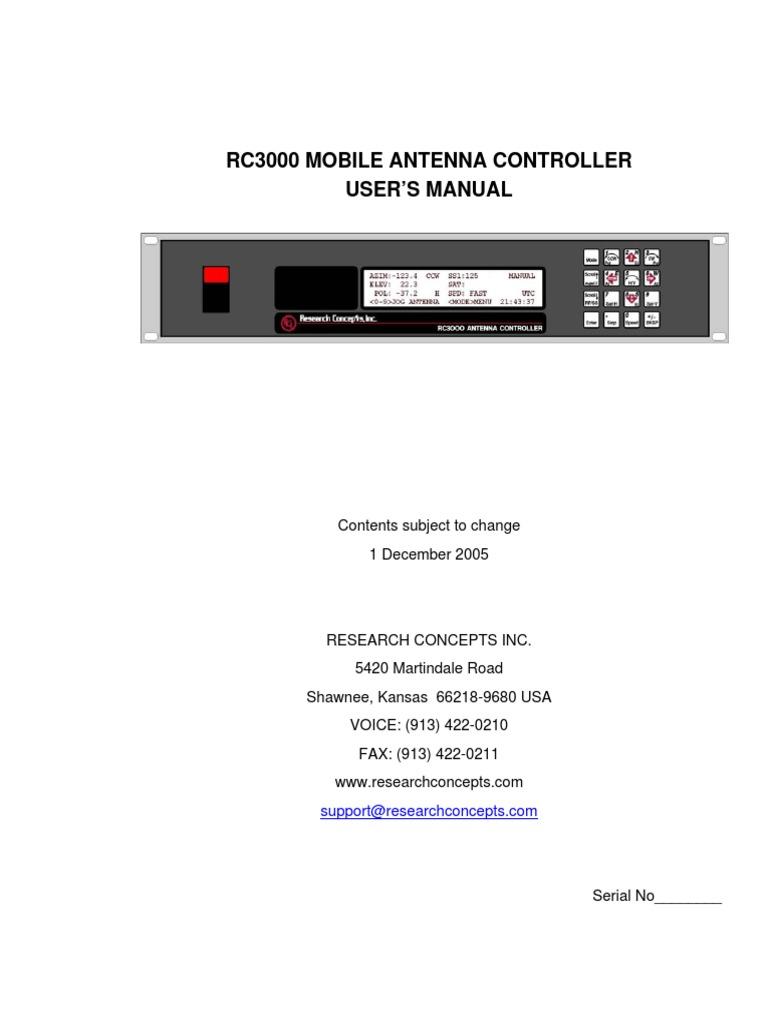 rc3000 manual schm dec 05 azimuth