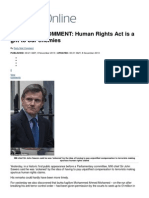 DAILY MAIL COMMENT_ Human Rights Act is a gift to our enemies _ Mail Online.pdf