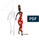 Desenhos Africa Colorir