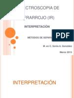 Interpretacion IR
