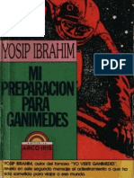 Mi preparacion  para Ganimedes - Yosip ibrahim