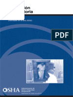 Ind 10 - OSHA 3079 Proteccion Respiratoria