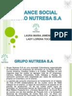 Balance Social Grupo Nutresa s