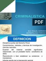 Nociones de Criminalistica