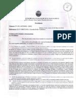 2011.Respuesta Oficial