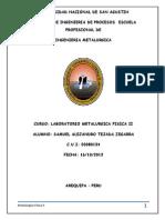 2º informe Recocido y normalizado